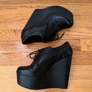Steve Madden Platform Oxford Shoes. Size 6. NWOT